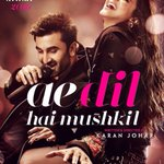 The poster makes you want to watch the film right away. Its a long wait till Diwali!!!! @karanjohar #ADHM #Ranbir 😍 https://t.co/WfRB6oUP0C