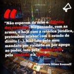 Um dos melhores momentos do discurso de @dilmabr. #DilmaÉInocente | #PelaDemocracia https://t.co/4Oh8D5yx2q