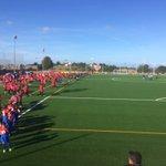 Presentación del nuevo campo artificial del @RealSporting #Mareo #FutbolBase https://t.co/yh5FOYJ3Bt