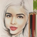 Baby,as I look into your eyes Ooh , youre perfect🎶 PERFECT🎶🎶 @mainedcm @MaidenGraffix #ALDUBWaitingForYes https://t.co/9wcUpjmbIe