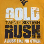 Do you need a fresh @goldrushwvu shirt for the game this weekend? BIGGEST DEAL OF THE WEEK: $10 in the Lair until 5! https://t.co/dUY8jkB4AR