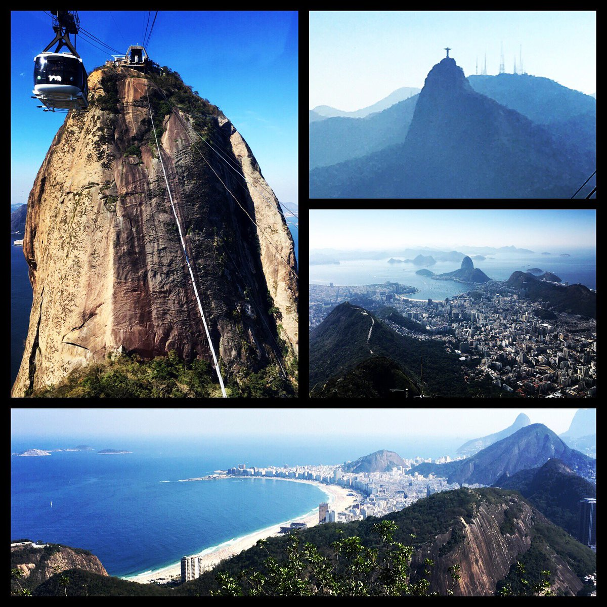 Doesn't matter which direction you look, it's all pretty pretty. #Rio