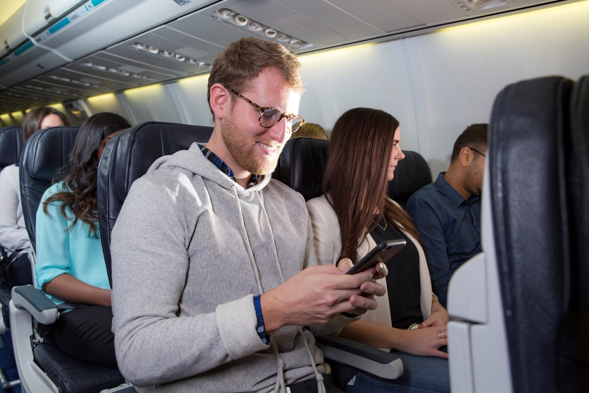 RT @FlyEIA: About to FlyEIAtoSchool? Check e-mail & social media in flight with @WestJet Connect.