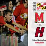 Welcome back @UMDcrew!  Its GAMEDAY!   Terps host Hartford tonight at 7 pm at Ludwig Field. #FearTheTurtle https://t.co/r4pkg8anam