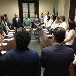 Lic. Noel Díaz, a nombre de @JHerreraCaldera clausura los trabajo de la Comisión para Prevención del Delito https://t.co/Z88KiXw5y6