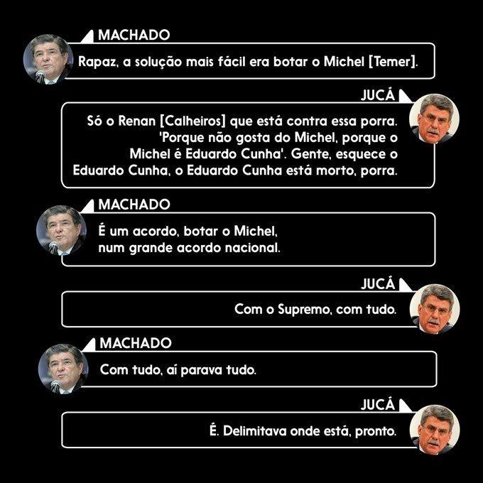 O sujeito na @GloboNews diz que Romero Jucá ainda é o homem forte do governo. Então, só pra lembrar quem é --> https://t.co/HqTLg57BRO