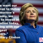 We exclusively interviewed @HillaryClinton and asked what she promises to do for families: https://t.co/gtISAPJhlW? https://t.co/Jp9Yt0em4Y