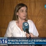 """""""Yo no le pido a De Vargas que renuncie, el presidente lo tiene que destituir"""" @desimasi2. #RPC #ElNoticiero https://t.co/iol7T4LXHU"""