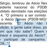 """Memórias do impeachment 2: em gravação Sergio Machado diz: """"Quem não conhece o esquema do Aecio?"""" https://t.co/vhTOzfQEs3"""