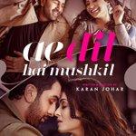 Ahh how exciting!!! LOVE IT! Aishwarya looks AMAAAZING!!! 😍😍😍 #AeDilHaiMushkil https://t.co/emxbFVPakt