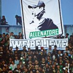 YES WE BELIEVE IT TOO...!!! #ALLENATORE #PSSSLEMAN #BRIGATACURVASUD #CURVASUDSHOP #MANDIRIMENGHIDUPI #ALEE https://t.co/09KafvxrF8