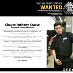 Chayce Anthony Krause is #wanted Canada-wide for attempted murder. https://t.co/uErIHPT9Yz #yyc https://t.co/sbwAO2ZIVl