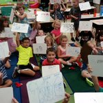 Firsties use pictures to solve word problems. #whs44 #weare44 https://t.co/bsq3ld9YqN