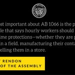 Today, we took a stand for principle. #AB1066 https://t.co/dL3HmxpJW6 https://t.co/1cJ2pXq67S