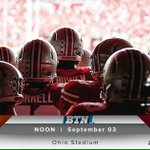 Can you feel it ⁉️ ITS GAME WEEK ‼️ 🎥 of @OSUCoachMeyer Wk 1 press conference: https://t.co/T7WYqrPkaE #GoBucks https://t.co/IErG96cnHD