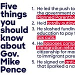 Trump talks about enacting extreme policy ideas that hurt Americans. His VP pick has actually done it. https://t.co/q3p5XFENI5