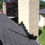 One of our crews completed this stunning roof and chimney flashing in a #Ldnont neighbourhood! https://t.co/RLe5pTdTM4