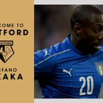 OFFICIAL: #watfordfc have signed Stefano Okaka on a five-year deal. More: https://t.co/9jnUk3y82y https://t.co/Olso2Crrnm