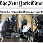 The front page #OTD in 2013. Obama set for limited strike on Syria as British vote no. #nytimes https://t.co/EGHs8k6spa