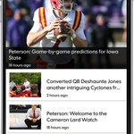 Get the latest Iowa State #Cyclones news and more from the Cyclone Insider app ... for FREE! https://t.co/gp12oeFqsO https://t.co/oATrIV5Pdu