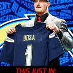 JUST IN: Chargers sign Joey Bosa. Largest upfront signing bonus in team history. (via @AdamSchefter/multi reports) https://t.co/8flSZYxHQb