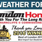 A few clouds with a low of 13 tonight. #ldnont https://t.co/8iv3Eryu06 https://t.co/uoJ9B9ChiS