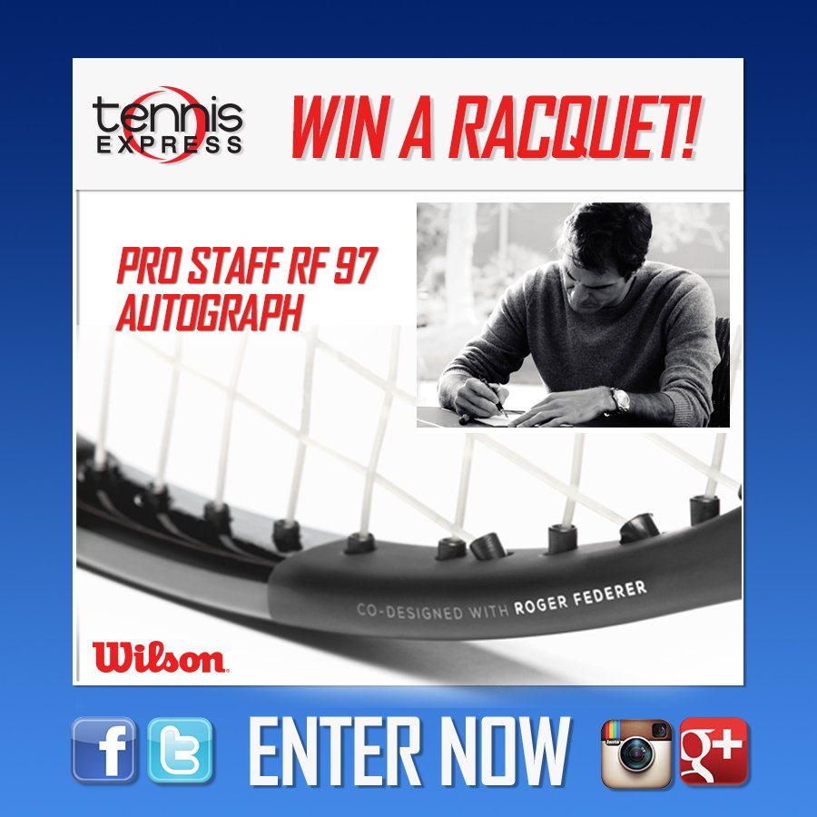 We Miss you @rogerfederer RT us and Roger! Win the NEW @WilsonTennis  RF97 racquet :) https://t.co/f6hDsyyE0O