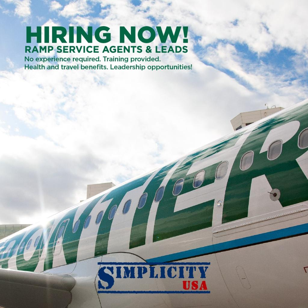 RT @FlyFrontierJobs: Join us at our Denver hiring event! 7 days/week from 9am-6pm through Sept. 15th! More Info: h…
