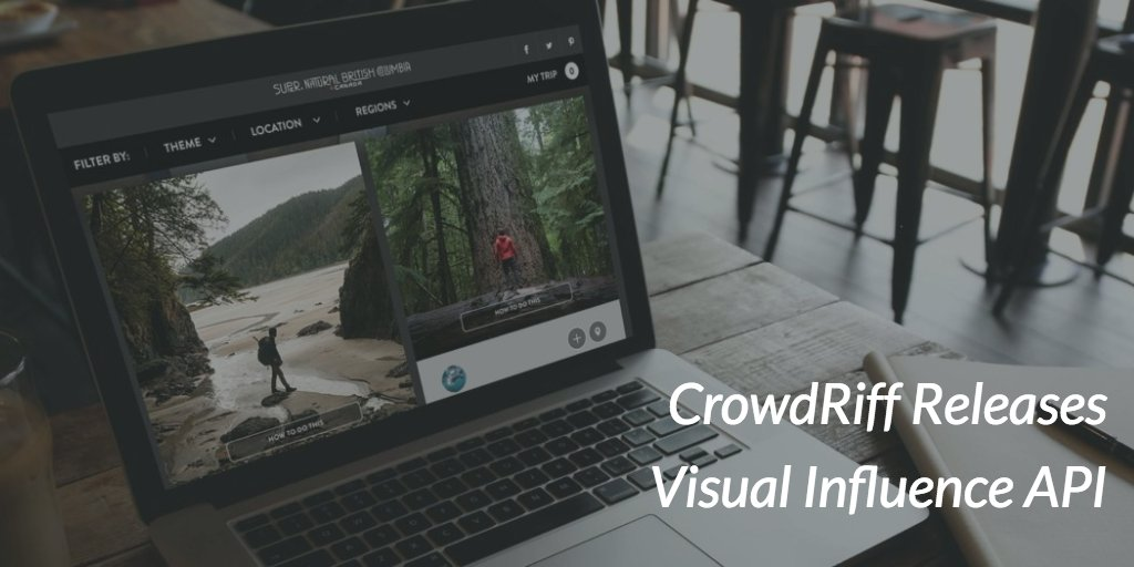 TODAY: @CrowdRiff announces the release of our new Visual Influence API https://t.co/I7LzZheawO https://t.co/ctAk2D57Ig