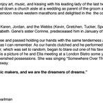 A bittersweet statement on Gene Wilder from his nephew Jordan Walker Pearlman, why he kept his illness private. https://t.co/m3axKdYwUu