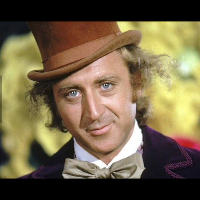 One of my favorite film characters of all time. #WillyWonka