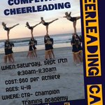 WVU Competitive Cheer Club will be holding their 1st annual Cheer Camp Saturday, Sept. 17th from 8:30am-11:30am. https://t.co/L0ISjlQxD7