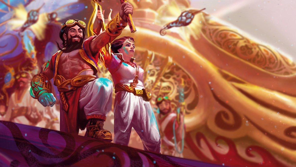 Dwarves make a triumphant return to Magic in #MTGKLD! https://t.co/SxbdR9pn87 https://t.co/TqxjlgNNbB