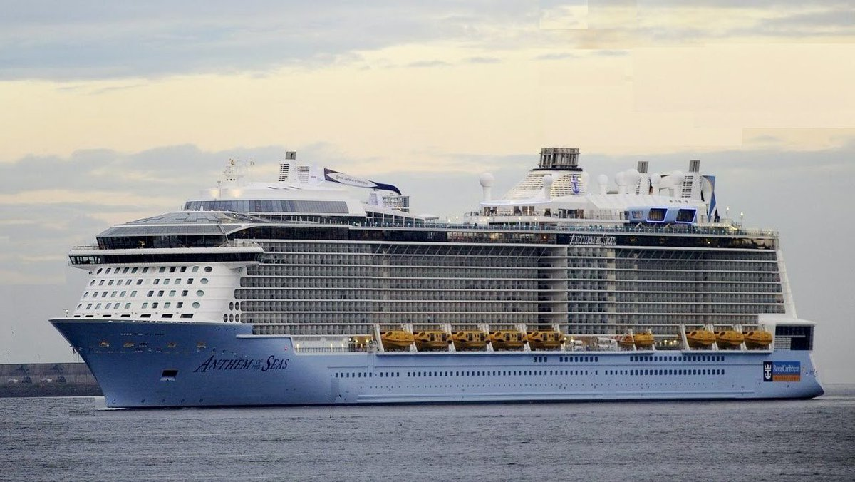 Much to see tomorrow @uptownsaintjohn as Anthem of the Seas arrives @PortSaintJohn #Incredible Let's show our stuff https://t.co/TC8cQ1wZC0