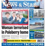 The front page of tomorrows Waterford News & Star #Waterford https://t.co/DHR5nBQMMz