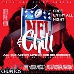 Every Sunday Starting Sunday 11th #NFLANDCHILL @ CHUPITOS [296 Morris Ave. Elizabeth,NJ] https://t.co/I2x3uavRwj