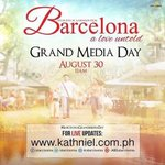 djp_jr121380: Spread Official HT today!!! #BarcelonaGrandMediaDay // #PushAwardsKathNiels https://t.co/tNDc87EU0E