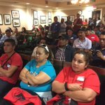 Farm workers await a vote on the overtime pay bill. Assembly members have been debating for over an hour. @ABC10 https://t.co/5jm6KYGSiL
