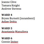 Regina elxn candidates so far. @waderizer (Ward 6) to make announcement tomorrow. (Click to expand) #yqr #yqrvotes https://t.co/zt4wojbqsM