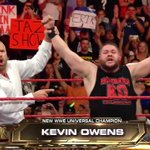 We have a NEWWWWWWW @WWE #UniversalChampion, and its @FightOwensFight! #RAW https://t.co/1DRc0ftJJ2