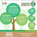 "Distrito Inicia Programa De Siembra De 12 Mil Árboles ""Plantemos Por El Buen Vivir"" https://t.co/S2EUcdeZTi https://t.co/yAtiYnXziV"