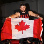 Making Canada proud. @FightOwensFight is the new @WWE #UniversalChampion. #WWE #RAW https://t.co/RfQJq7iR4u
