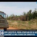 El EPP asesinó a 8 militares de la FTC en Arroyito, Concepción #RPC #ElNoticiero https://t.co/GGMB9vhZQ5