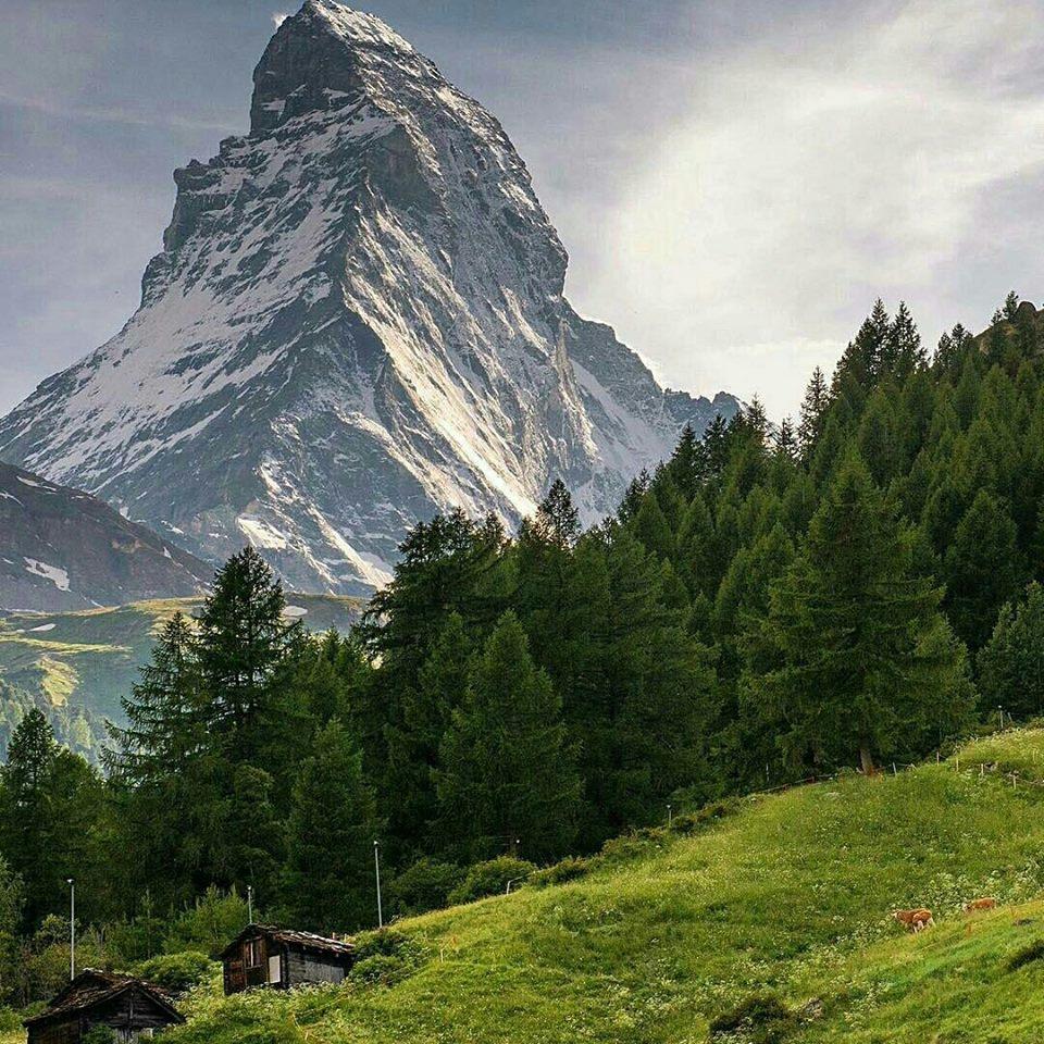 Matterhorn, #Switzerland | Photography by ©Scott Hafer https://t.co/YAjOKopSZK