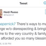 This is what Colin Kaepernicks biological mother had to say: Merica. https://t.co/cE7hZ34zzo