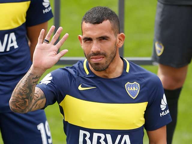 Image result for karlos tevez Boca Juniors
