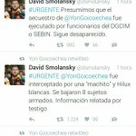David Smolansky tuitea que Goicoechea está desaparecido y Goicoechea le hace RT. Los escuálidos son muy divertidos. https://t.co/vXyG04aEvd