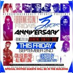 Happy 3rd Anniversary #ForDrinkersOnly Fridays College 🆔 🆓 All Night (SPECIAL GUEST IN DA BUILDING) https://t.co/o309cU1jFk a