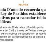 1.@nicolasmaduro quiere ilegalizar a @voluntadpopular.Por eso la represión.Así lo devela rectora dl CNE.Dictadura https://t.co/LaP2RlDPoy