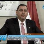 """""""El EPP tiene dos brazos, uno el narcotráfico y el otro el #FrenteGuasu"""" Dr. @zacariasirun #TelediarioPy https://t.co/xSxGZExSib"""